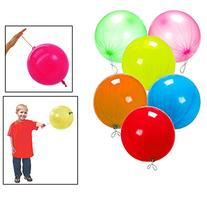 """Toy Cubby Neon Fun Colored Punch Balloon, 10"""" Balloons, 50"""