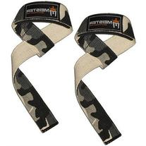 NEOPRENE-PADDED URBAN CAMO WEIGHT LIFTING STRAPS Bar Wrist