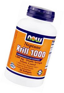 Neptune Krill 1000, 1000 mg, 60 Softgels, From Now Foods