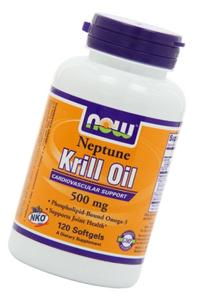 NOW Foods Neptune Krill Oil 500mg, 120 Softgels