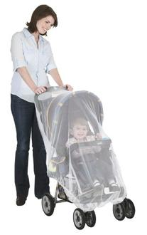 Jeep Stroller with Weather Protector and Carrier Netting,