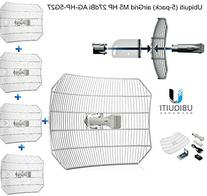 Ubiquiti Networks AG-HP-5G27 5PK 5GHZ AIRGRID AIRMAX 27DBI