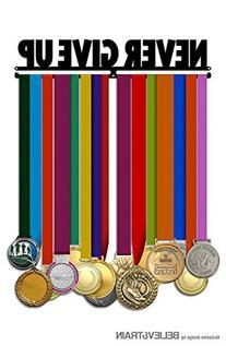 Never Give Up - Medal Hanger