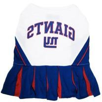 New York Giants NFL Dog Cheerleader Outfit - Medium - NYGCLO