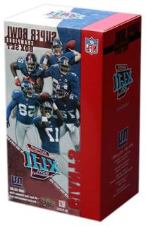 New York Giants Super Bowl XLII Champions Upper Deck