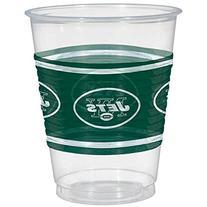 Amscan New York Jets Plastic Cup, 16 oz