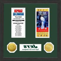 NFL New York Jets SB Championship Ticket Collection