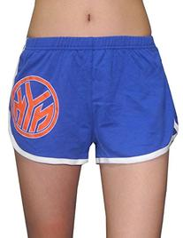 NBA NEW YORK KNICKS Womens Running / Athletic Shorts M Blue