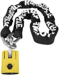 Kryptonite New York Legend Chain 1515 - 5 Ft./Black/White/