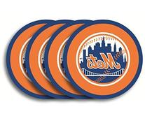 New York Mets Coaster Set - 4 Pack