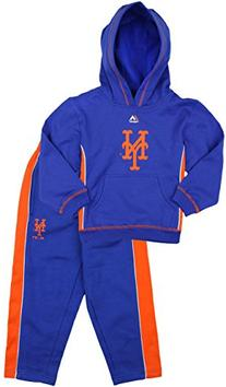 New York Mets MLB Little Boys Stadium Wear Fleece Hoodie and