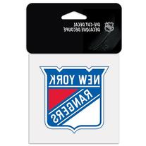 NHL New York Rangers 18-by-18 inch Diecut Decal