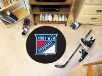 New York Rangers Puck Mat