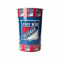 NHL New York Rangers 15 Waste Basket, Team Color, One Size