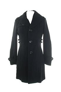 Kenneth Cole New York Women's Single Breasted Wool Coat with