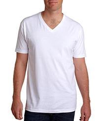 Next Level Premium Fitted Short-Sleeve V - White