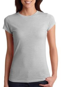 Next Level Ladies' Poly/Cotton Tee - Silver 6000L XL