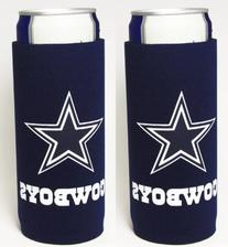 NFL 2013 Football Ultra Slim Beer Can Holder Koozie 2-Pack