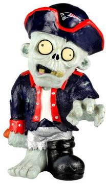 NFL New England Patriots Resin Thematic Zombie Figurine
