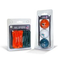 Team Golf NFL 3 Ball and 50 Tee Pack