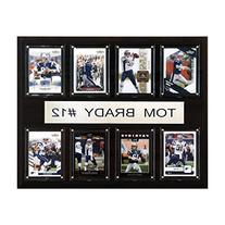 NFL 8 Card Plaque, New England Patriots / Tom Brady
