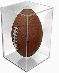 NFL - NCAA BallQube Football Holder Sports Memorabilia