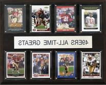 NFL All-Time Greats Plaque, San Francisco 49ers