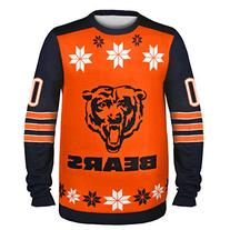 NFL Chicago Bears Almost Right But Ugly Sweater, Large,