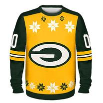 NFL Green Bay Packers Almost Right But Ugly Sweater, Large,