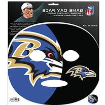 NFL Baltimore Ravens Game Day Face Decal