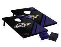 NFL Baltimore Ravens Tailgate Toss Bean Bag Game Set, Medium