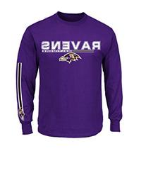 NFL Baltimore Ravens Men's UVH Tee, Dark Purple, XX-Large