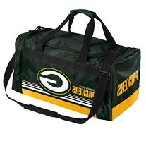 NFL Green Bay Packers Striped Core Duffle Bag, Medium, Green