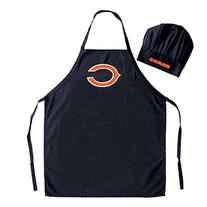 NFL Chicago Bears Chef Hat and Apron Set