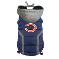 NFL Chicago Bears Dog Puffer Vest, X-Large