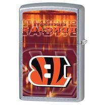 Zippo NFL Cincinnati Bengals Street Chrome Pocket Lighter