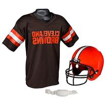 NFL Cleveland Browns Helmet and Jersey Set # - Franklin