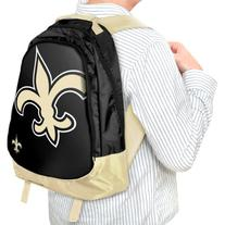 Forever Collectibles NFL New Orleans Saints Core Structed Backpack