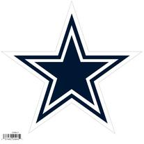 NFL Dallas Cowboys Automotive Magnet, 8-Inch