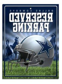 NFL Dallas Cowboys Hi-Res Metal Parking Sign