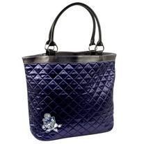 NFL Dallas Cowboys Retro Quilted Tote, Navy