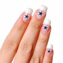 NFL Dallas Cowboys 4-Pack Temporary Nail Tattoos