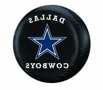 NFL Dallas Cowboys Tire Cover, Black, Large
