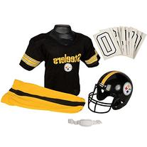 Franklin Sports NFL Pittsburgh Steelers Deluxe Youth Uniform