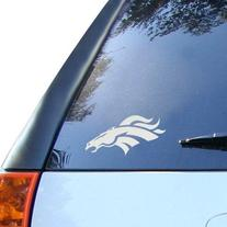 "NFL Broncos Denver Window Graphic Sticker, 9"" x 5"" x 0.2"","