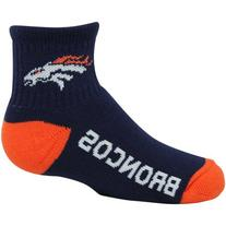 NFL Denver Broncos Youth Name & Logo Quarter-Length Socks -