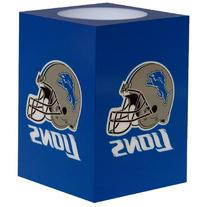 NFL Detroit Lions Square Flameless Candle