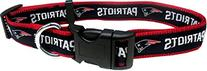 Pets First NFL New England Patriots Pet Collar, Medium
