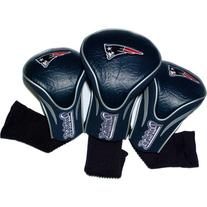 NFL New England Patriots 3 Pack Contour Fit Headcover