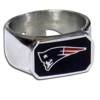 NFL New England Patriots Steel Bottle Opener, Ring Size 10